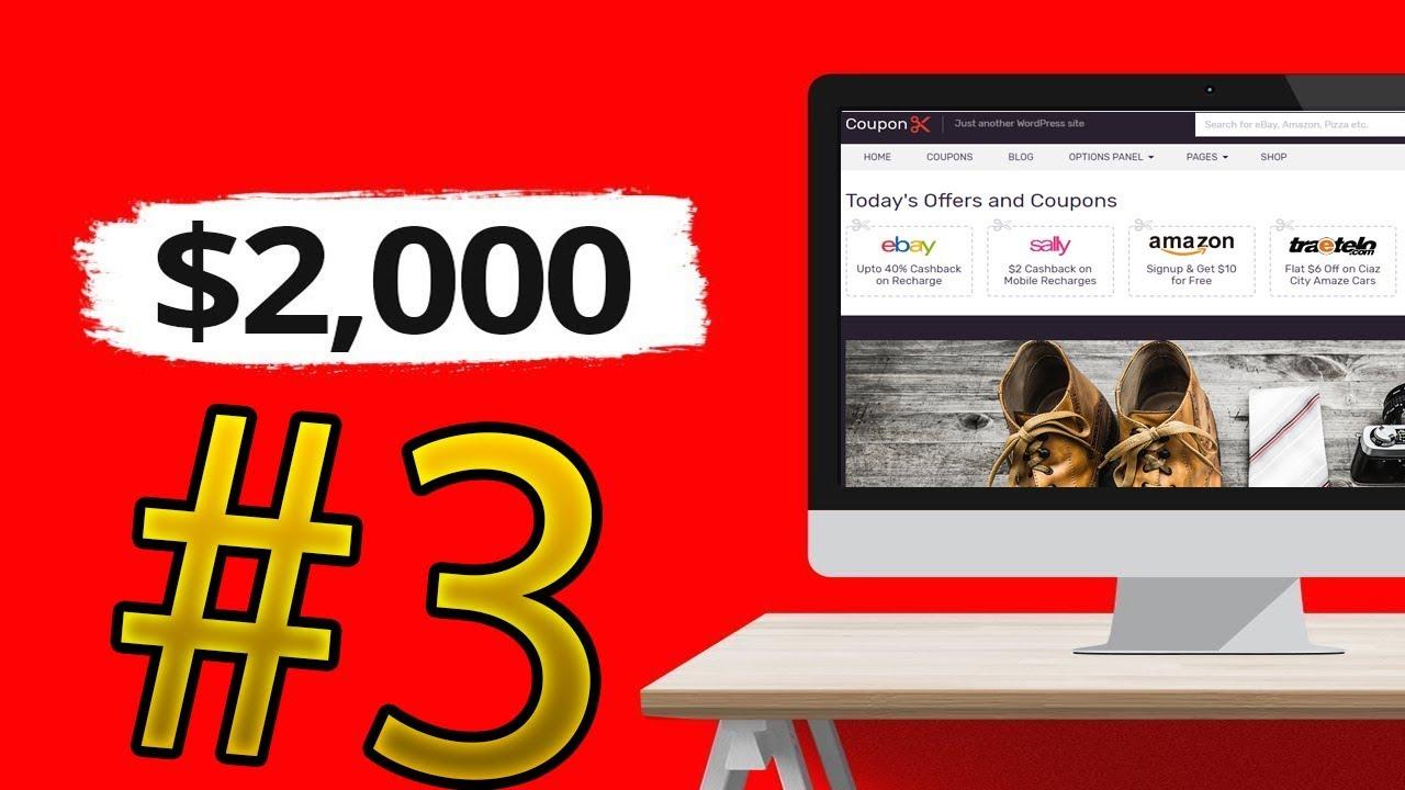 الربح من الانترنت وتحقيق 2000 دولار عبر موقع الافلييت #3