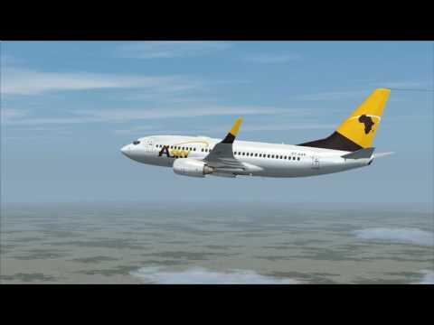 vol Bangui à Douala Boeing 737 700 Asky vol commenté