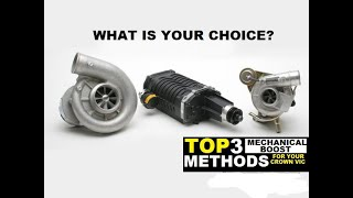 TOP 3  BOOST METHODS FOR YOUR CROWN VICTORIA ( Which 1 is your number 1 )