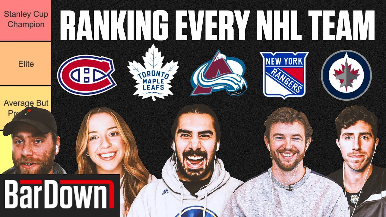 NHL Preseason Power Rankings: Can the Avalanche Steal the ...
