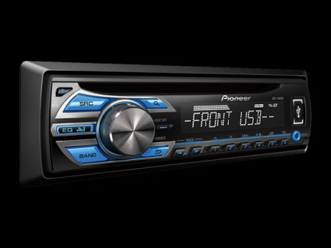 Pioneer Auto Radio Cd Usb Mp3 Deh 1580Ub 4 Rca Subwoofer