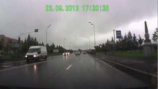 Авария г. Пушкин 23.09.2012 (17:30)