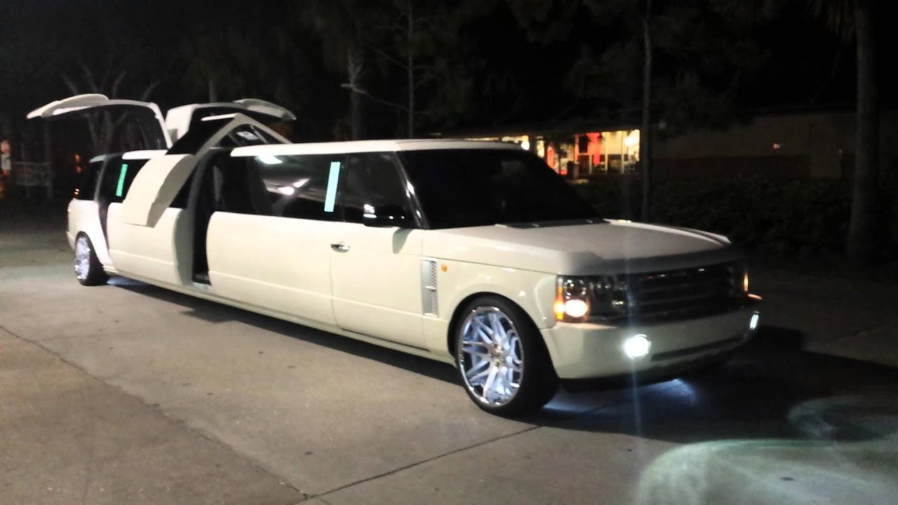 New Range Rover Limo 1 Clean Ride Limo