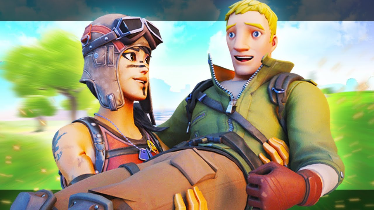 WHOLESOME FORTNITE MOMENTS