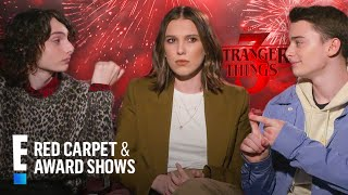 """""""Stranger Things"""" Cast Sum Up New Season In 3 Words 