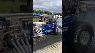 Hawai'i Drag Racing League Alika Harris Burnout