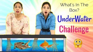 WHAT's In The BOX - UNDERWATER Challenge ft. ShyStyles | #Roleplay #Fun #Sketch #ShrutiArjunAnand