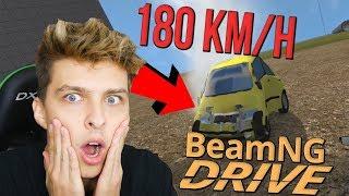 NÁRAZ S FABII VE 180 KM/H | BeamNG.drive