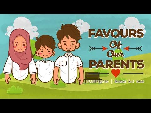 Favours Of Our Parents Illustrated Nouman Ali Khan  Subtitled