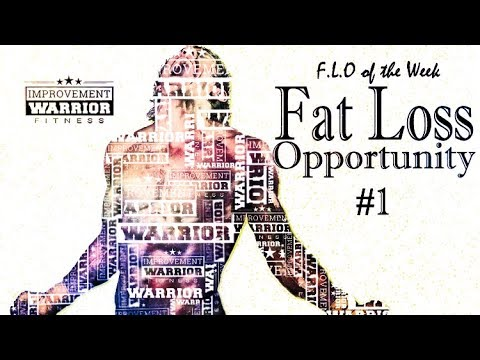 Full Body Conditioning Interval Training- F.L.O of the Week: Fat Loss Opportunity #1