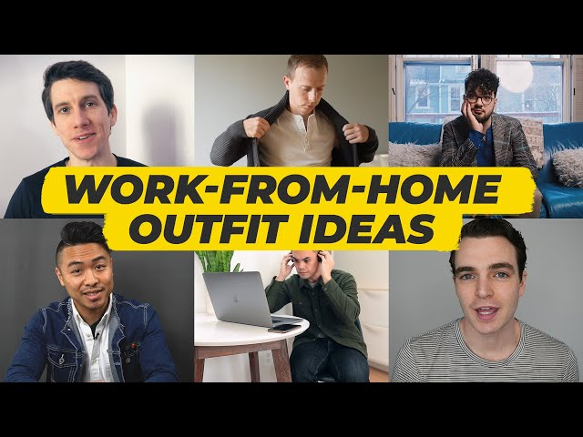 6 Work From Home Outfits (For Men) // Modest Man, Gent Within, Kavalier & MORE • Effortless Gent