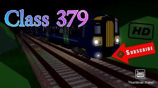SCR (Roblox) Newry - James Street (Class 379 Waterline) v.1.3.20