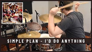 Simple Plan - I'd Do Anything - Drum Cover by Julien Bigras