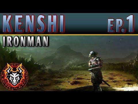 Kenshi Ironman PC Sandbox RPG - EP1 - THE DESERT POWER