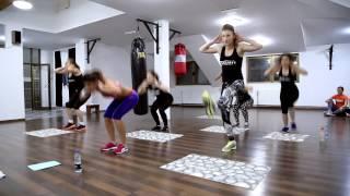 INSANITY  team La Grom workout 22 min V part