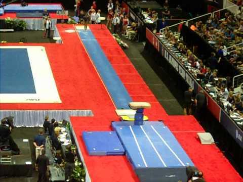 vault gymnastics gabby douglas. Gabby Douglas Vault - 2012 USA Gymnastics Olympic Trials Day 2 A
