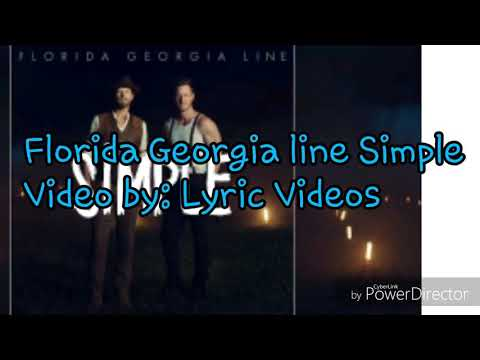 Florida Georgia Line Simple lyrics