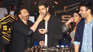 Wrap Up Party Of Film BLANK   Sunny Deol, Karan Kapadia, Ishita Dutta