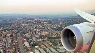 Ethiopian Airlines B787-8 Landing Addis Ababa