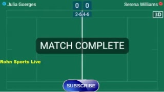 GOEGERS J. vs WLLIAMS S. Live Now Wimbledon 2018 - Score