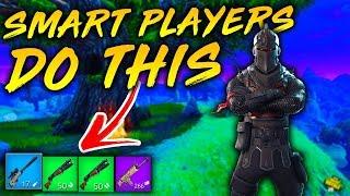 5 Things SMART Players DO In FORTNITE! (Fortnite Battle Royale)