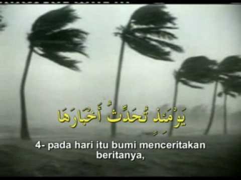 Surah Az Zalzalah - Mishary Al 'Afasy