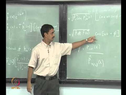 Mod-01 Lec-06 Lecture 6 : Standing Waves -- 2