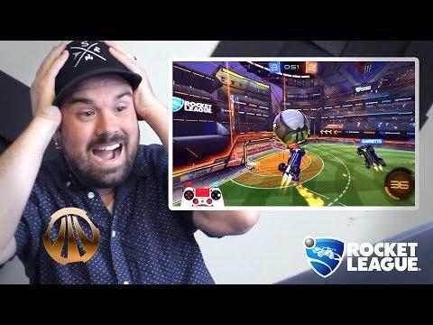 A Bronze Reacts To Rocket League Pros