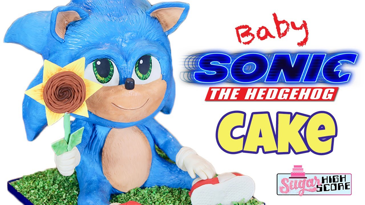 Watch Chef Make Baby Sonic Cake Then Slice Its Adorable Face Off Boing Boing