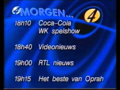 Rtl4 programma overzicht 1994 youtube for Rtl4 programma