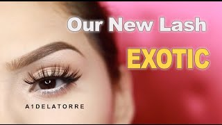 nubounsom exotic 3d silk lashes