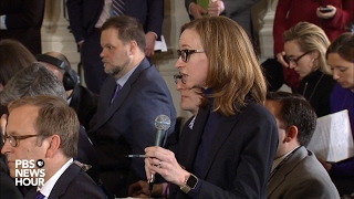 NewsHour's Lisa Desjardins asks President Trump about DACA