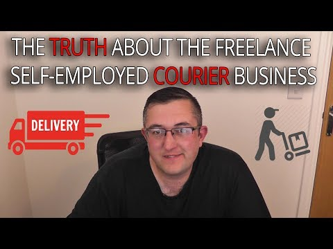 The TRUTH about the Freelance Courier and Self Employed Cour
