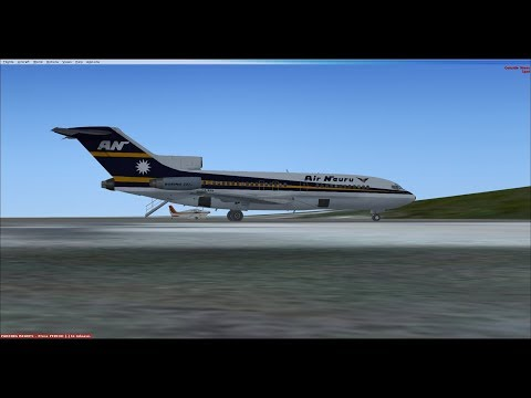 Microsoft Flight Simulator X | Guam to Nauru | Air Nauru 727-100