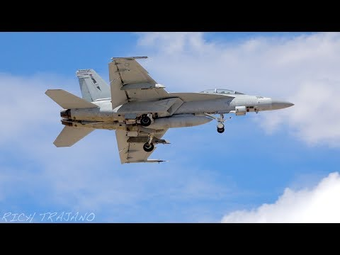 Multiple arrivals at Nellis AFB