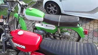 Balkan 50 / Балкан 50 и Simson S51 Moped's