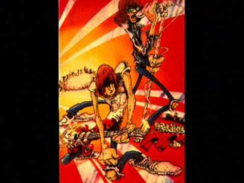 Ramones Cartoon Judy is a Punk