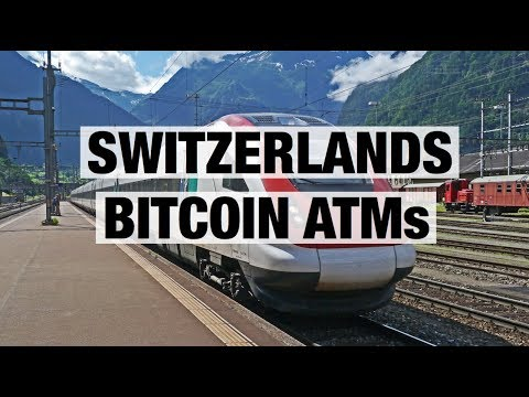 Switzerlands Bitcoin ATMs