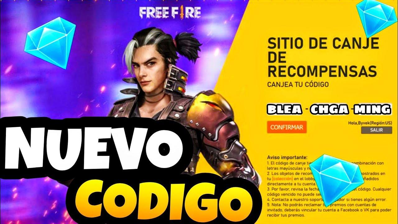 🛑OTRO CODIGO DE FREE FIRE || Corre a CANJEAR el código de GARENA || Free Fire Cup🔥