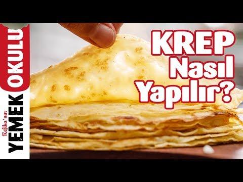 Akıtma (Krep) Tarifi | Krep Nasıl Yapılır? | Kahvaltı Tarifleri