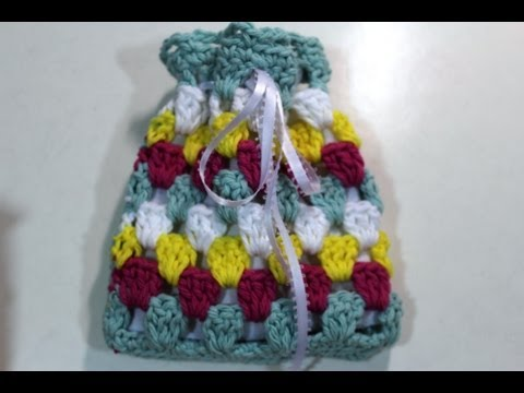 How To Crochet Sachet Pouch Youtube