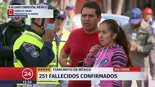 Contra reloj avanzan rescates de sobrevivientes tras terremoto en México
