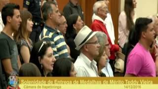 Sessão Solene - Medalha de Mérito Teddy Vieira - 2016