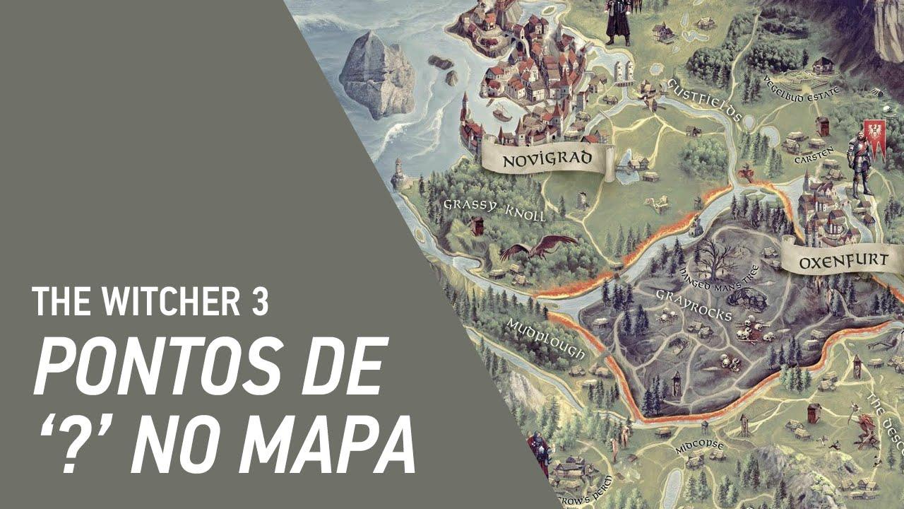 The Witcher 3 Mapa.The Witcher 3 Wild Hunt Pontos De No Mapa Youtube