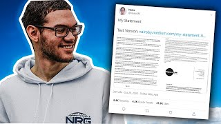 NEW Nairo Statement
