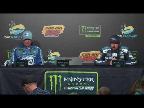 Kevin Harvick Martin Truex Jr talk advancing to championship 4 at Homestead Miami