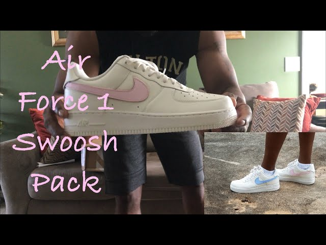 cb5547514754b QUICK LOOK AT THE NIKE AIR FORCE 1  07 FROM THE SWOOSH PACK + AN ON FEET  LOOK - YouTube