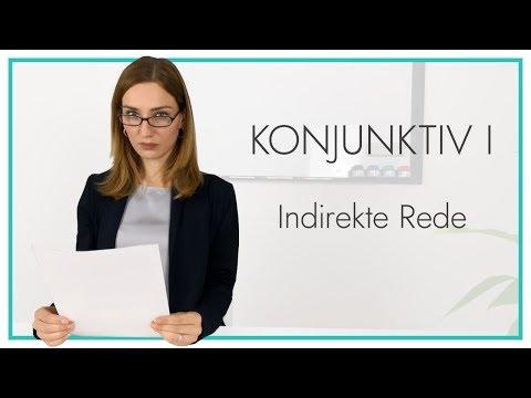 Konjunktiv I (indirekte Rede)