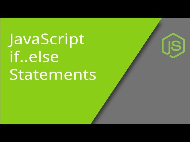JavaScript else if Statements