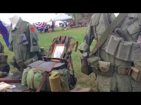 Vietnam war display at Ft Negley Nashville,TN
